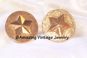 MILITARY BRASS Earrings