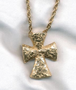 GOLDEN SPLENDOR Cross Necklace