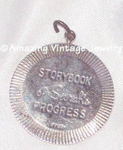 STORYBOOK OF SARAH'S PROGRESS Charm