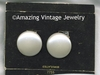 BUTTON PEARL Earrings - Bold