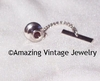 BIRTHSTONE TIE TAC - January - Garnet