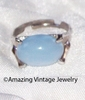 BEAUTY GLO Ring - Silvertone