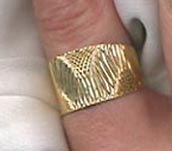 GOLDEN SWIRLS Ring