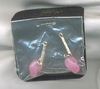 HOLIDAY Earring Dangles Pink