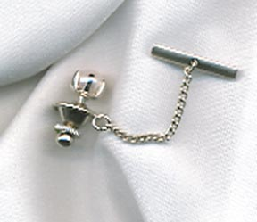 CULTURED PEARL Tie Tac
