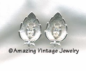 CRYSTAL NAVETTE Earrings