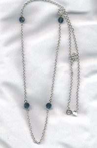 SPARKLE BEAUTY Necklace - Silvertone