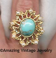 AZURE SKIES Ring