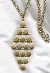 Goldtone Hinged Necklace