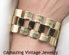 FOUR SEASONS Bracelet Goldtone