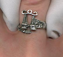 WRAP AROUND ZODIAC Ring - Libra