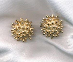 Goldtone Pierced Earrings