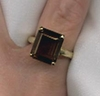 GOLDEN TOPAZ Ring