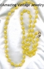 HOLIDAY BEADS Necklace - Yellow