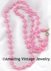 HOLIDAY BEADS Necklace - Pink