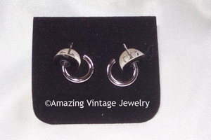 YOUNG SPIRIT Earrings - Silvertone - Pierced