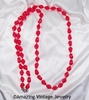 HOLIDAY BEADS Necklace - Red
