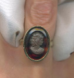 SHADOW CAMEO Ring