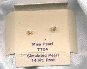 MISS PEARL Earrings