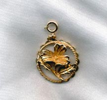FLOWER OF THE MONTH Charm  - August