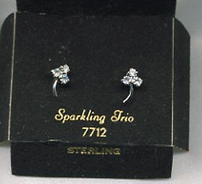 SPARKLING TRIO Earrings