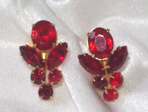 CORO Red RS Earrings