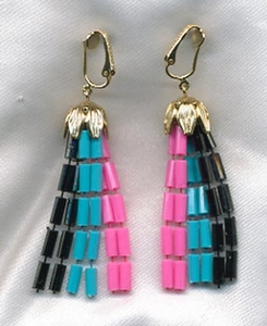 CRUISE LINE Earrings - Midnight Multi