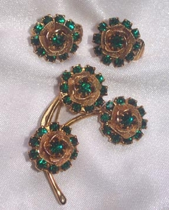 JUDY LEE Pin/ER - Emerald Green RS