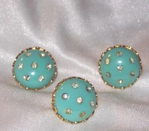 Pin Set - Turquoise/RS