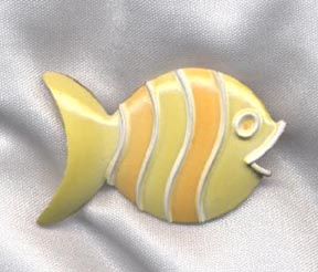 GOLD FISH Pin