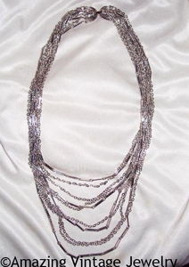 CHIFFON BIB Necklace