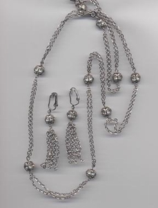CHAIN-O-LITES Necklace/Earrings Set