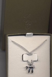 CHAI Sterling Pendant Necklace - Lady Coventry