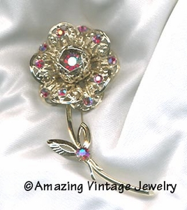 FASHION FLOWER Pin