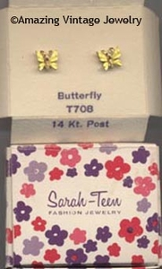 BUTTERFLY Earrings - Teen