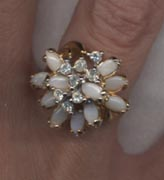ROMANTIC CLUSTER Ring