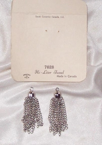 HI-LITER TASSEL Earrings - Canada