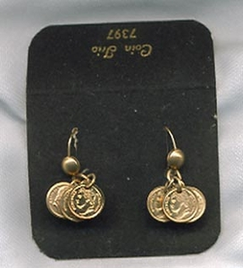 COIN TRIO Earrings