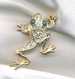 Golden Ice Collection - FROG Pin