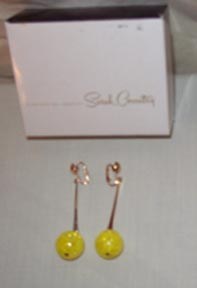 A-GO-GO Earrings Yellow