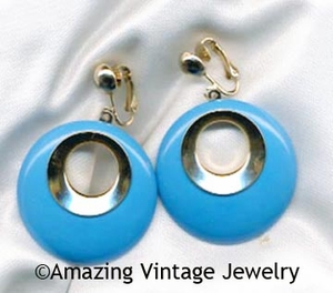 BOLD GYPSY Earrings Blue