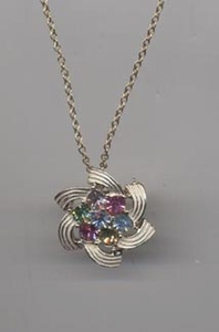 COLOR SPRAY Necklace