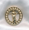 Gold Awards Pin