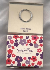 THREE RINGS Pin