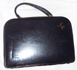 LADY COVENTRY Black Vinyl Case