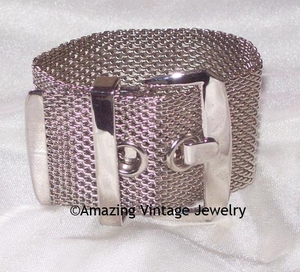 CONTINENTAL Bracelet Silvertone SMALL