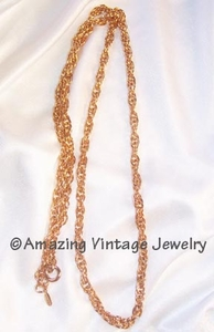 FRENCH ROPE Necklace
