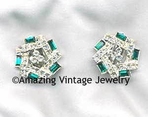 EMERALD ICE Earrings
