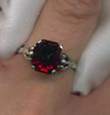 Sarah's Birthstone Rings - January