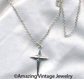 FAITH Necklace  Silvertone
